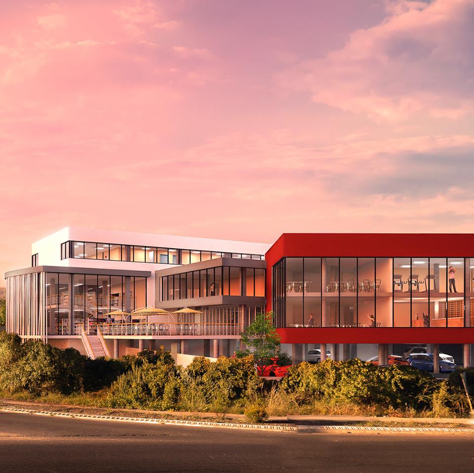 Les nouveaux locaux du futur centre de formation en alternance à Montpellier