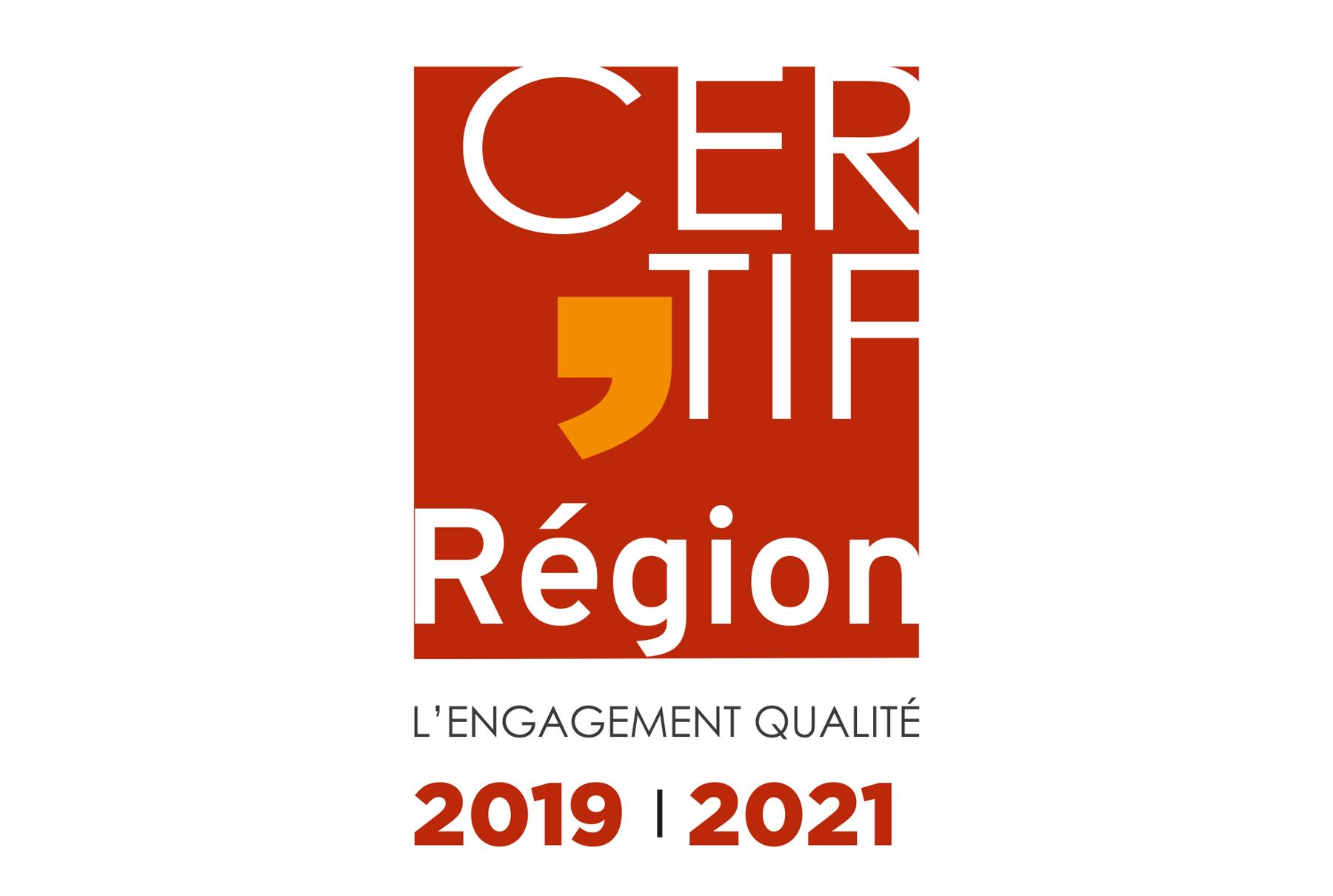 Logo label Certif'Occitanie