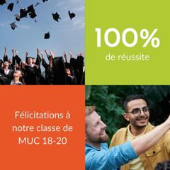 Groupe Alternance Languedoc Montpellier résultats BTS NDRC GPME MUC 2020
